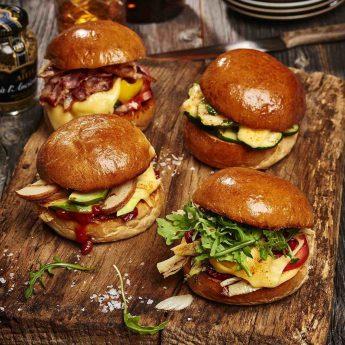 Burger – kvartett